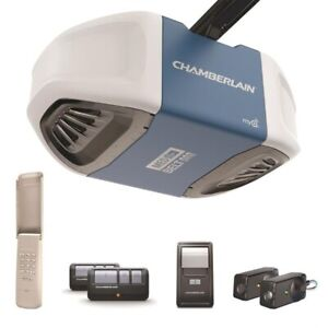 CHAMBERLAIN 1/2HP BELT MYQ GARAGE DOOR OPENER INSTALLED $300