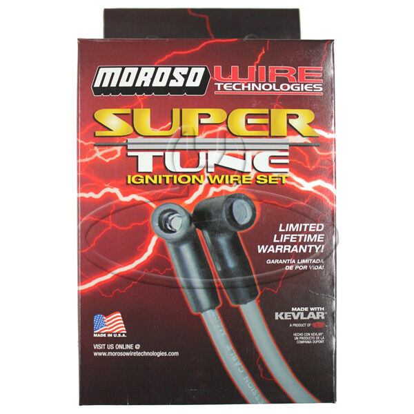 MADE IN USA Moroso Super-Tune Spark Plug Wires Custom Fit Ignition Wire Set 9261