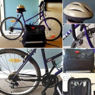 Bike Apollo Crystal to make Uber Eats (full equiped)