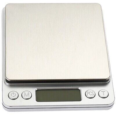 3000g x 0.1g Kitchen Scale Jewelry Precision Scale w/ Piece Counting