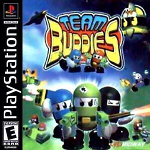 Team buddies PlayStation 1