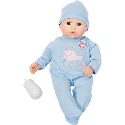 ZAPF CREATION my first Baby Annabell Bruder mit Schlafaugen NEU & OVP