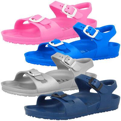 Birkenstock Rio Kids EVA Schuhe Kinder Sandalen Freizeit Sandaletten Badeschuhe