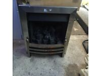 Gas fire needs front painting or replacing good con other wise £70