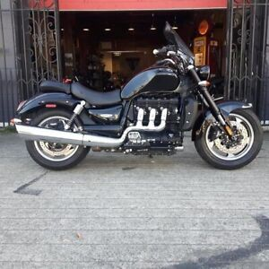 2017 Triumph Rocket III Roadster Phantom Black