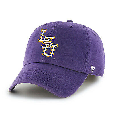 NCAA Baseballcap/Basecap LSU LOUISIANA STATE TIGERS Logo '47Brand adjustable (Ncaa Baseballs)