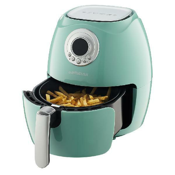 GoWISE USA 2.75-Quart Electric Programmable Air Fryer White/