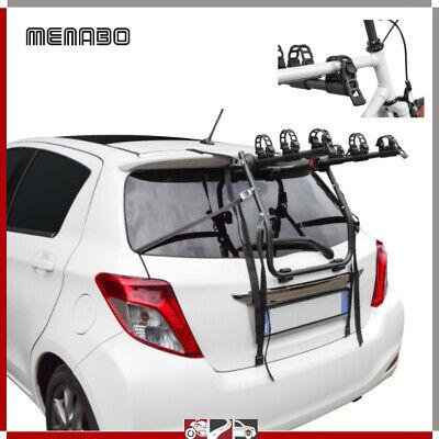 Portabicicletas Trasero Coche 3 Bicicleta para Fiat 500 Escl. Techo Vidrio/ Sin