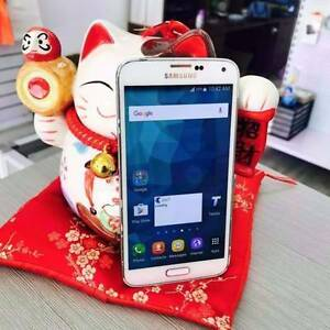 Pre loved samsung s5 16gb white warranty tax invoice Nerang Gold Coast West Preview