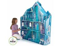 KidKraft Disney® Frozen Snowflake Mansion Dollhouse +19 Pieces of Furniture BNIB
