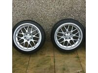 Mercedes 18 inch alloy wheels with tyres