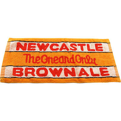 Newcastle Brown Ale Bar Towel - Home Bar Drink Collectible Beer Lovers Gift Item