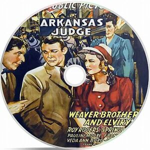 Arkansas Judge- Roy Rogers-1941- Black And White Public Domain film On DVD