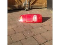 Caravan/Motorhome rear light unit