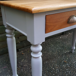 Hall Table Sideboard Drawers Solid Teak Vintage Shell Handles Coogee Eastern Suburbs Preview