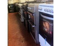 Freestanding 50-60cm cookers Gas/Dual Fuel/electric start£99 warranty included sale fridge freezer