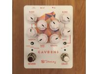 KEELEY Caverns V2 Delay / Reverb - Guitar Effects Pedal - BRAND NEW
