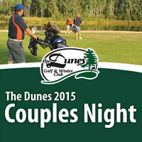 2015 Couples Social Night at The Dunes Golf & Winter Club