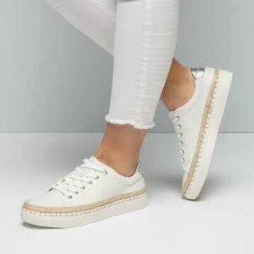 €10,- korting! S.Oliver Sneakers wit | Maat 40