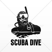 Scuba Diving Stickers