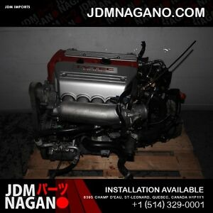 JDM Honda Accord EURO R TSX CL7 K20A Type R Engine 6 Spd LSD Tra