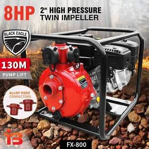 Buy Black Eagle 7HP FireFighting Water Pump, 208cc with 3 Outlets Fairfield Fairfield Area Preview