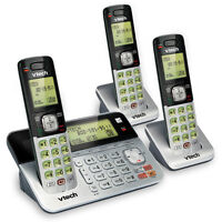 phone VTECH 3 Handset Connect to Cell Answering System bluetooth