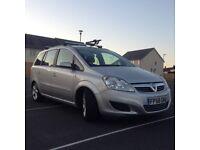 Vauxhall Zafira 1.9 cdti (120 PS) 2009