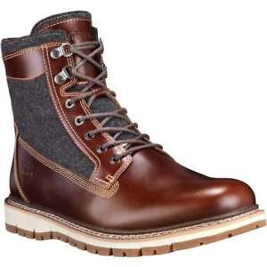 "New Timberland 6"" Britton Hill Warm Leather & Fabric Boot Men"