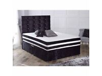 Delivery 7Days Week Top Quality Double Bed LUXURY ORTHOPAEDIC MEMORYFOAM Mattress Headboard