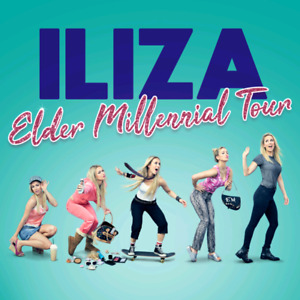 2 tickets to Iliza Shlesinger, Halifax May 23 @ 7pm