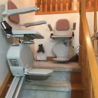 TWO ACORN STAIR LIFTS
