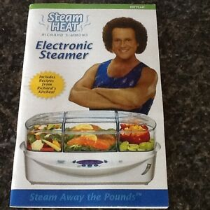 Electronic Food Steamer (Richard Simmons)