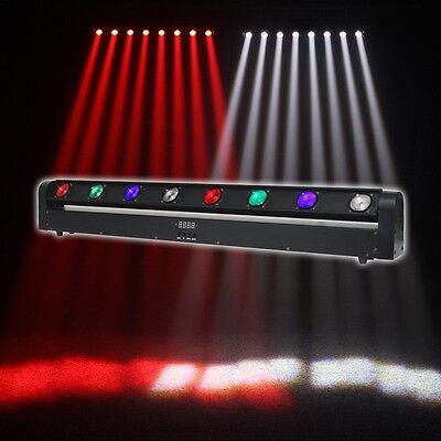 Equinox Swing Batten DMX Quad Colour LED Multi-Beam Disco DJ Lighting Effect