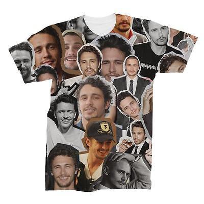 James Franco Photo Collage T Shirt