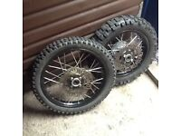 Pit bike wheels for sale