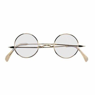 Round Wire Rim Glasses Adult Colonial  Santa Claus Suit Costume (Colonial Eyeglasses)