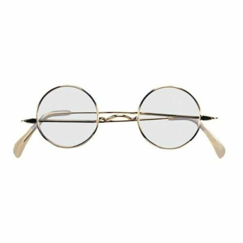 Round Wire Rim Glasses Adult Colonial  Santa Claus Suit Costume Accessory