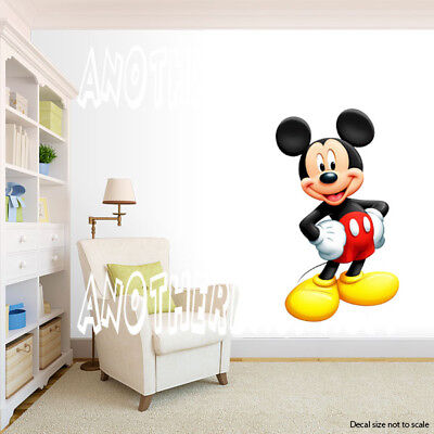 Mickey Mouse Room Decor (Mickey Mouse Room Decor -  Wall Decal Removable)