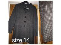 George coat size 14