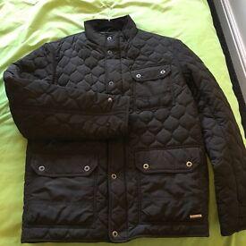 Black padded Firetrap jacket from USC