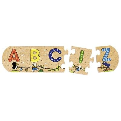 ABC-Puzzle Alphabet Buchstaben lernen Lernhilfe Vorschule Schule Lernspiel