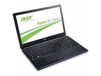 """Intel Core i3 Acer E1-570 15.6"""" Laptop - Black"""
