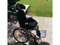 Panther size 3 tilt & recline Wheelchair