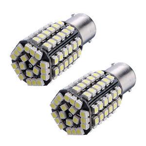 2-X-Car-1156-382-BA15S-P21W-80-SMD-LED-Xenon-LNite-Tail-Brake-Signal-Bulb-BF