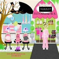 Girls Spa Birthday Party - Sheriff Professional Cosmetics