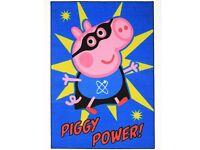 George pig medium sized rug