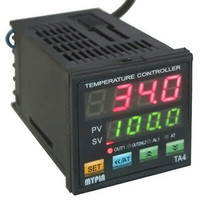 Ta4-snr Digital Pid Temperature Controller Ssr Control Output 1 Alarm