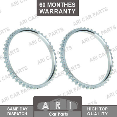 2X Front ABS RELUCTOR RING FOR RENAULT CLIO ESPACE KANGOO LAGUNA MEGANE