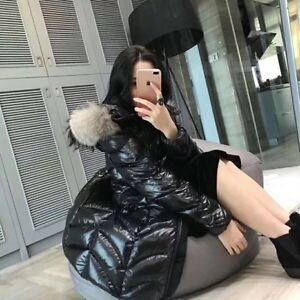 Luxury Moncler women's winter down jacket also Canada goose